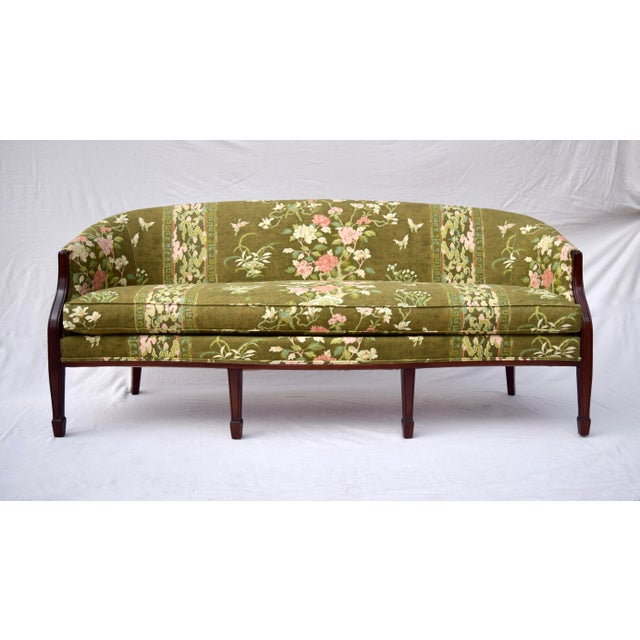 Hickory Chair Federal Hepplewhite Style Sofa For Sale - Image 13 of 13