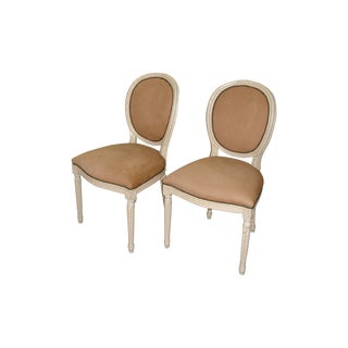 Louis XVI Side Chairs - Set of 2 For Sale