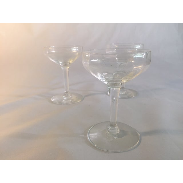 Antique Champagne Glasses - Set of 3 - Image 6 of 6