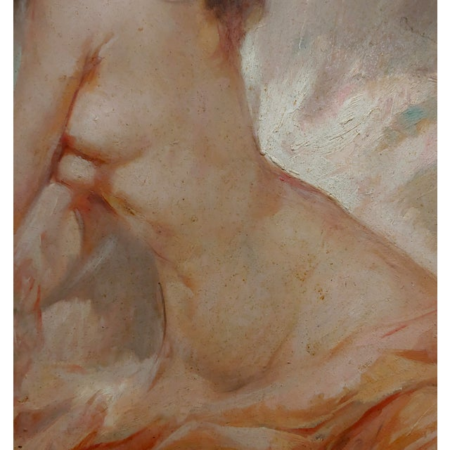Julian Ritter - Reclining Female Nude - Oil Painting For Sale In Los Angeles - Image 6 of 10