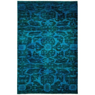 """Vibrance Hand Knotted Area Rug - 5'2"""" X 7'10"""""""
