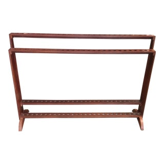 Wood Cane Stand For Sale