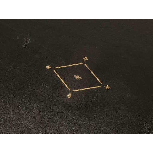 French Empire Style Ebonized Desk For Sale - Image 11 of 11