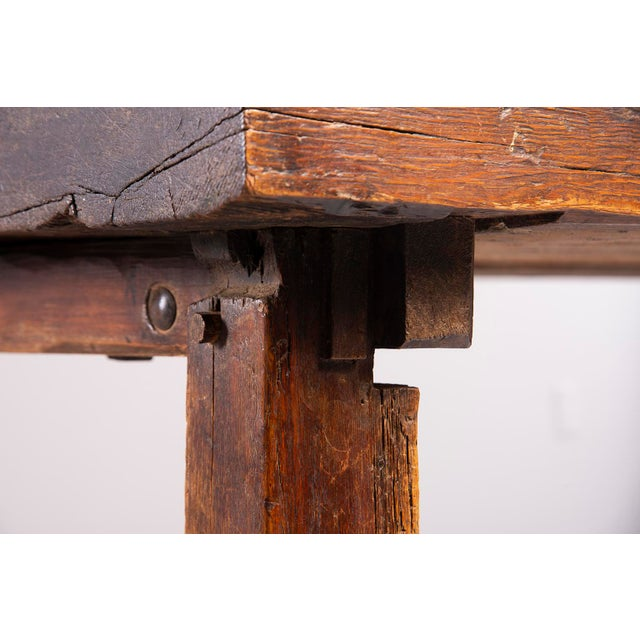 Early 19th Century Rustic Table For Sale - Image 11 of 13