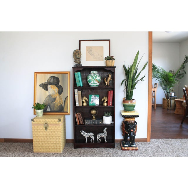 Asian Elephant Garden Seat For Sale - Image 3 of 13