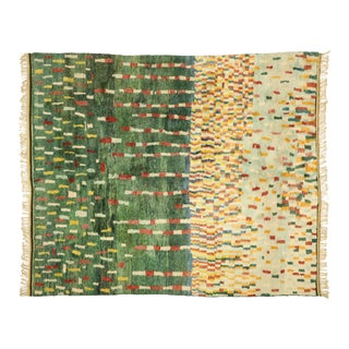 Contemporary Berber Moroccan Rug - 11'08 X 14'01 For Sale
