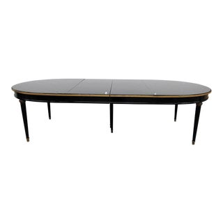 Maison Jansen Directoire Style Bronze Mounted Dining Table For Sale