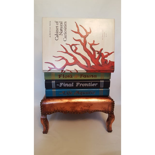 """Cabinet of Curiosities"" Lift Top Book Form Side Table For Sale - Image 10 of 10"