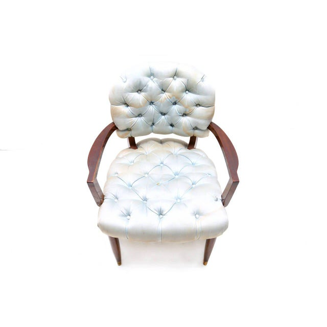 Empire Jules Leleu Armchair For Sale - Image 3 of 7