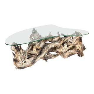 Mid Century Driftwood Coffe Table