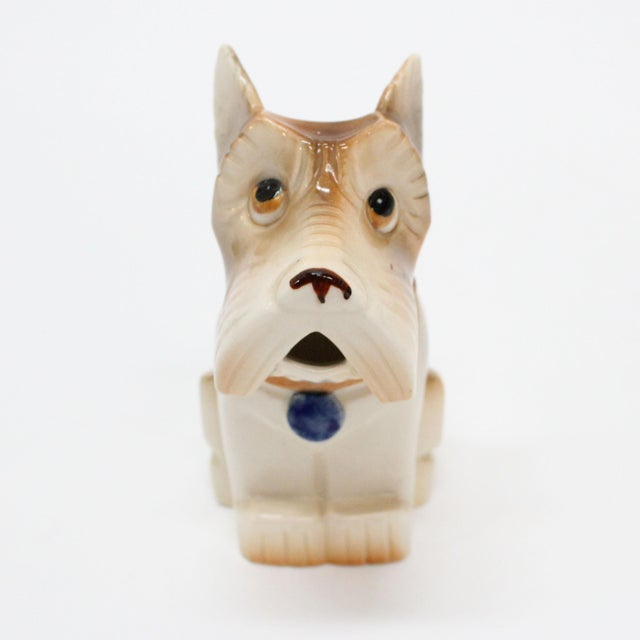 Occupied Japan Ceramic Terrier Creamer - Image 2 of 5