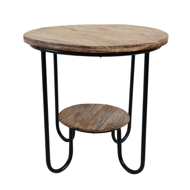 Art Deco Teak Deco Side Table For Sale - Image 3 of 3