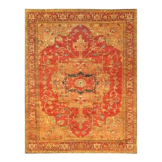 """Pasargad Serapi Wool Rug- 9' 0"""" x 11'11"""""""