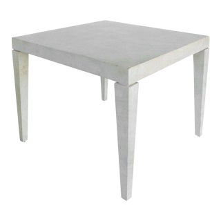 Tessellated Stone Square Card Table