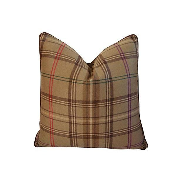 Ralph Lauren Wightwick Plaid Pillows - A Pair - Image 2 of 7