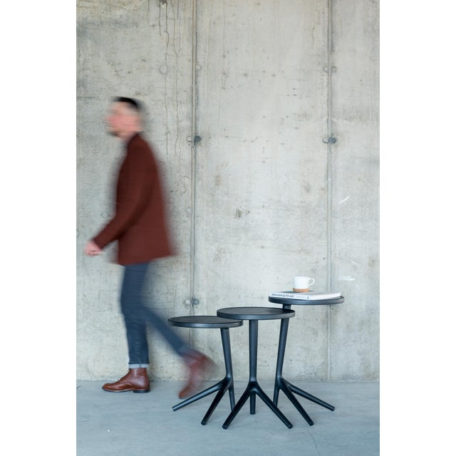 Contemporary Tripod Nesting End Tables - Set of 3 For Sale - Image 12 of 13