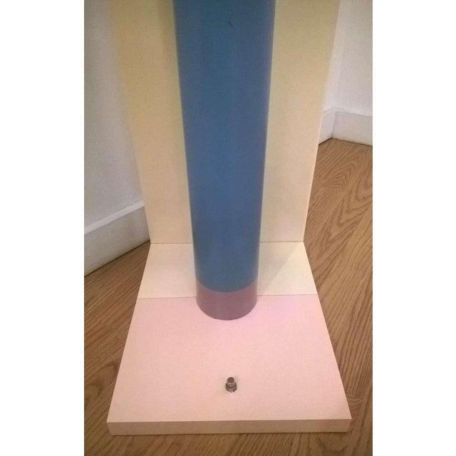 1980s Sculptural Rocket Shaped Floor Lamp For Sale - Image 10 of 11