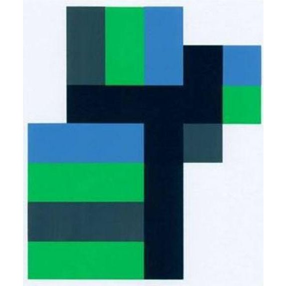 1990s 1997 Anton Stankowski Abstract Limited Edition Serigraph For Sale - Image 5 of 5