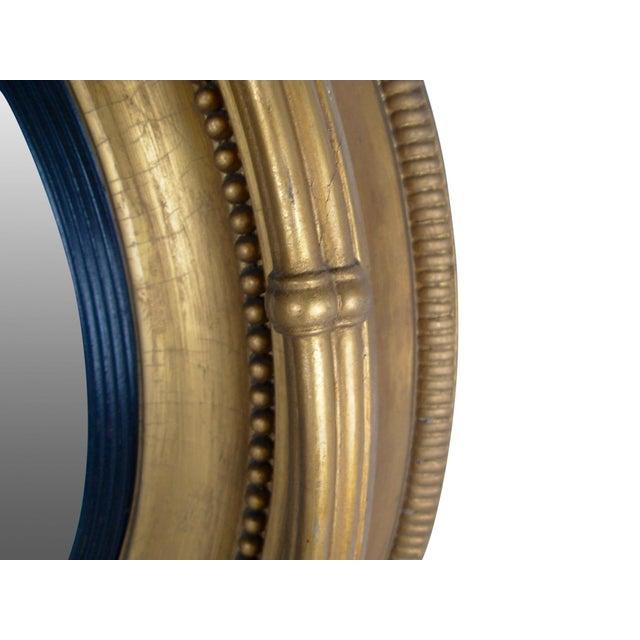 Regency Style Giltwood Convex Mirror - Image 5 of 8
