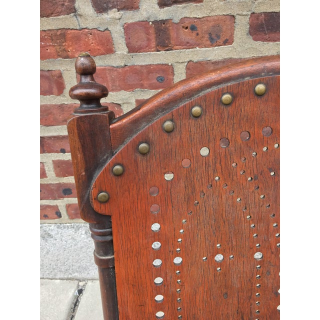 Late 19th Century *Last Chance* Antique Victorian Child's Rocking Chair For Sale - Image 5 of 13