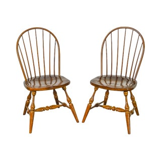 Duckloe Loop Back Windsor Side Chairs - A Pair