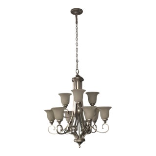 Kichler 9 Light Chandelier For Sale