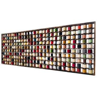 Wool Rack Wall Sculpture For Sale