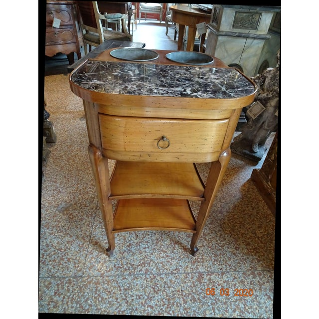 Antique Marble French Rafraichissoir For Sale - Image 12 of 12