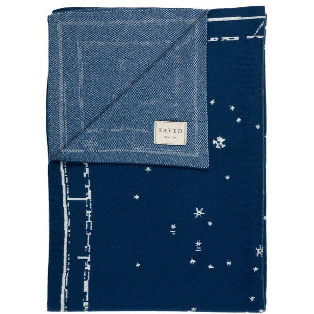 Inspired by an 18th century celestial print, the Constellation throw gives new meaning to resting peacefully under the...