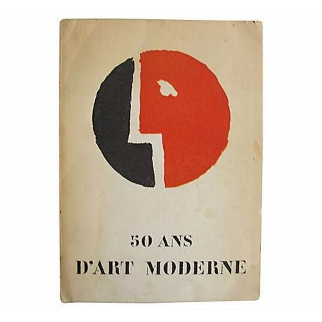 50 Ans d'Art Moderne, French Book - Image 1 of 4