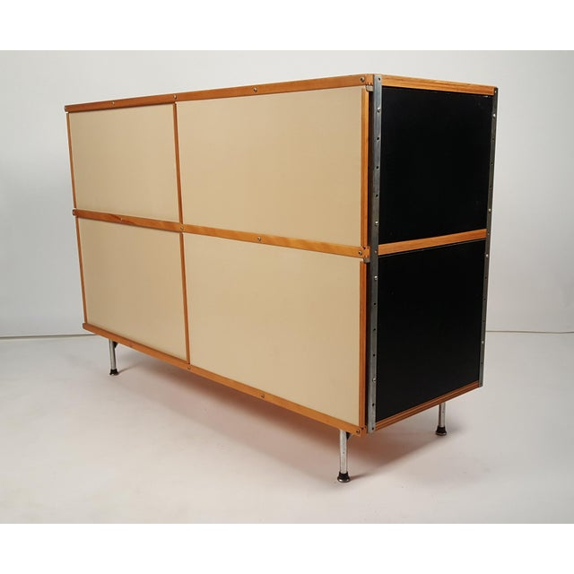 Early ESU 200 Storage Unit by Charles & Ray Eames for Herman MIller For Sale - Image 11 of 11