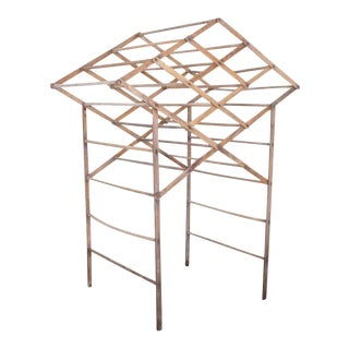 1920s Wooden Clothes Drying Rack For Sale
