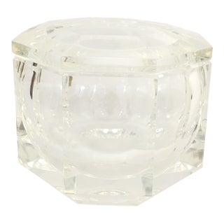 Alessandro Albrizzi Lucite Ice Bucket For Sale