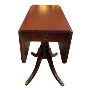 Vintage Small Scale Drop Leaf Table For Sale