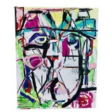 Image of J J Justice Contemporary Portrait Painting For Sale