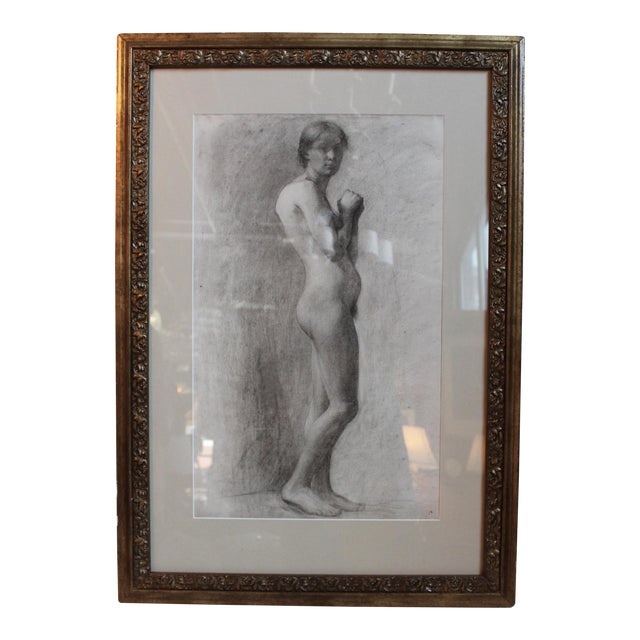 George Rabb Female Nude Drawing For Sale