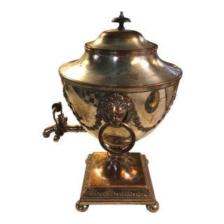 Late 19th Century Silver Samovar