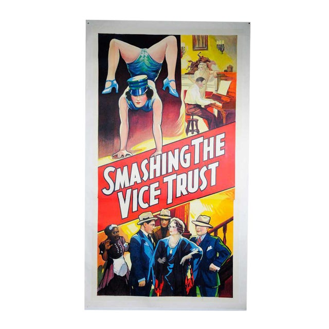 Smashing the Vice Trust Movie Poster For Sale