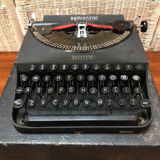 Antique Remington Remette Portable Typewriter