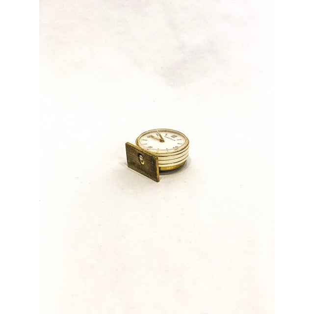 Small Swiss Caravelle Clock - Image 4 of 8