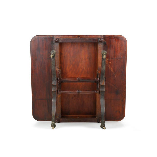 American Classical Mahogany Library Table - Image 11 of 11
