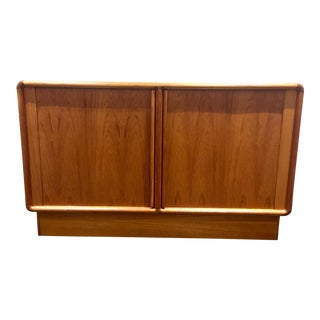 Kibaek Mobelfabrik Sideboard With Tambour Door
