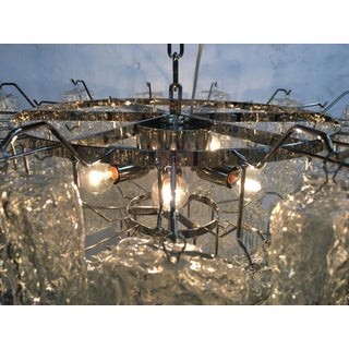 "Clear ""Brick""murano Glass With Kromo Frame Sputnik Chandelier Preview"