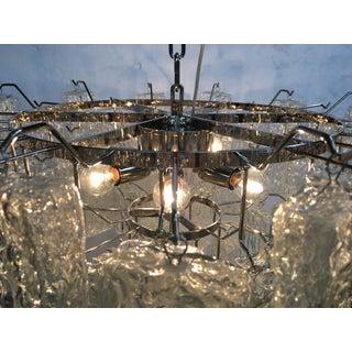 "Clear ""Brick""murano Glass With Kromo Frame Sputnik Chandelier Preview"