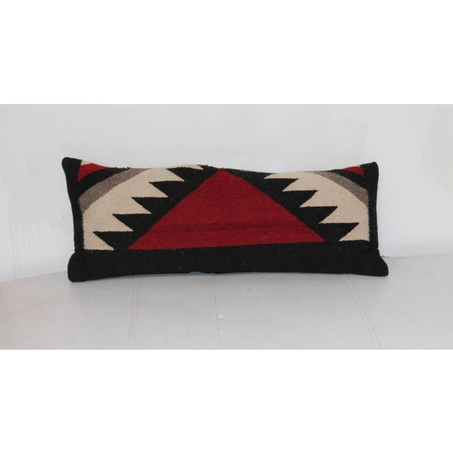 This narrow pair of Indian weaving pillows have a wonderful geometric look and mix and match with other weavings. The...