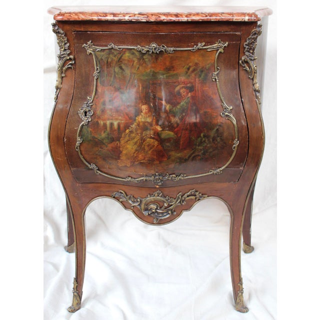 """Louis XV Style """"Vernis Martin"""" Cabinet - Image 2 of 10"""