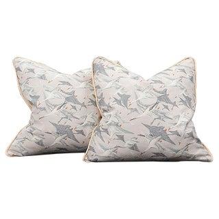Wild Geese Pillows - A Pair