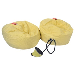 Pair of Bean Bag-Chairs ´Memo` by Ron Arad