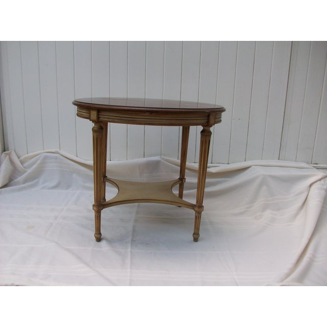 American John Widdicomb Round Side Table For Sale - Image 3 of 8