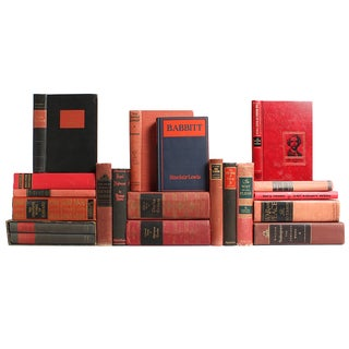 Red & Black Classic Books - S/20 For Sale